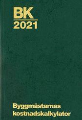 BK 2021. Byggmästarnas kostnadskalkylator