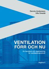 E-BOK Ventilation förr och nu. Utg 5
