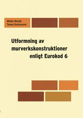 E-BOK Utformning av murverkskonstruktioner enl Eurokod 6