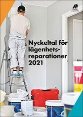 Nyckeltal lägenhetsreparationer 2021