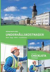 Underhållskostnader 2021 + checklista