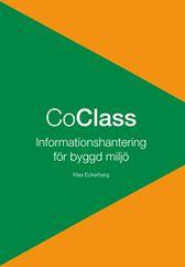 E-BOK CoClass - Informationshantering för byggd miljö