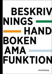 E-BOK Beskrivningshandboken AMA Funktion