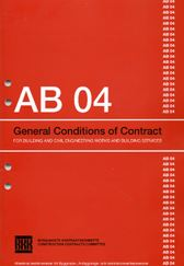 AB 04. General Conditions of Contract for Building and Civil Engineering Works and Building Services